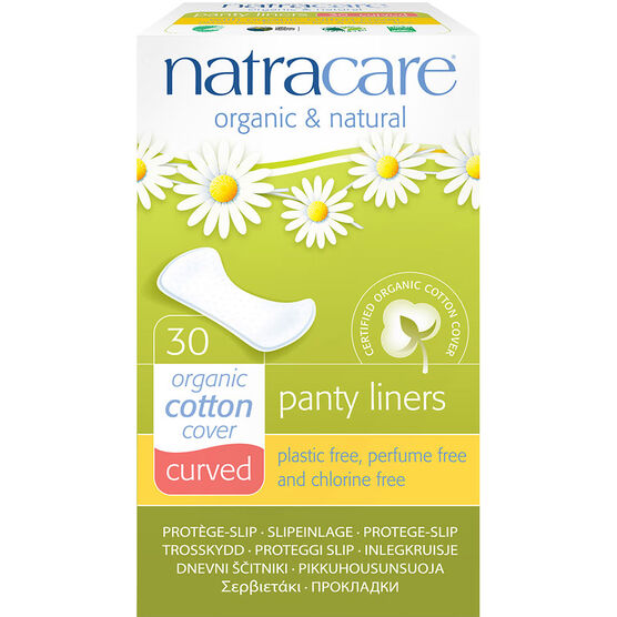 Natracare Natural Curved Panty Liners - 30's