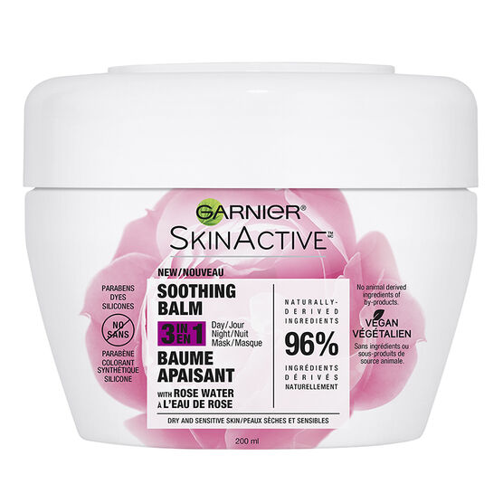 Garnier SkinActive Soothing Balm 3 in 1 - Dry & Sensitive Skin - 200ml