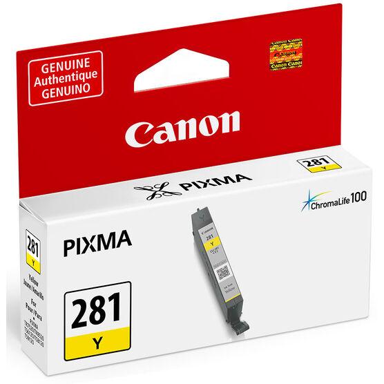 Canon CLI-281 Printer Ink Cartridge - Yellow - 2090C001