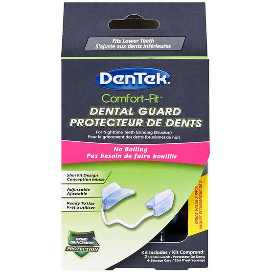 Dentek Comfort-Fit Dental Guard - 2 pack