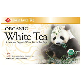 Uncle Lee's Organic White Tea - 100's