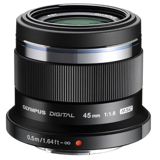 Olympus 45mm F1.8 Lens - Black - V311030BU000