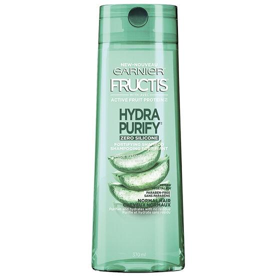 Garnier Fructis Hydra Purify Fortifying Shampoo - 370ml