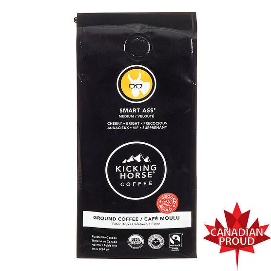 Kicking Horse Coffee Smart Ass - Medium Roast - Ground - 284g