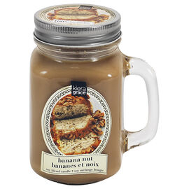 Kiera Grace Scented Mason Jar Candle - Banana Nut Bread - 13oz