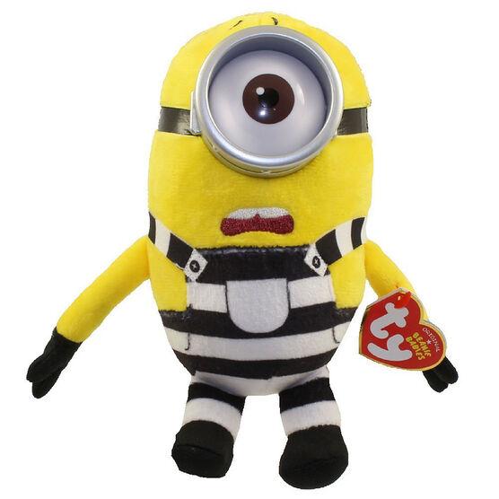 TY Despicable Me Beanie Baby - Prison Minion Carl