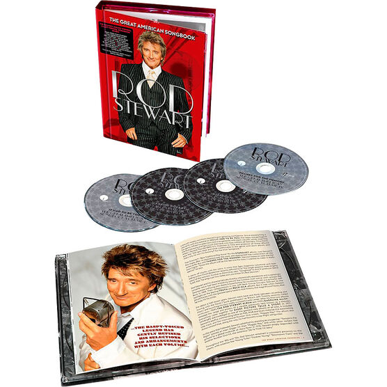 Rod Stewart - The Great American Songbook Box Set - 4CD + Book