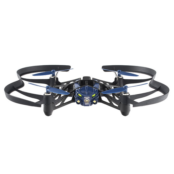 Parrot Airborne Night Maclane Minidrone - Black/Blue - PF723101