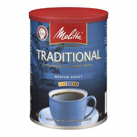 Melitta - Traditional Medium Roast - Ground Coffee - 300g