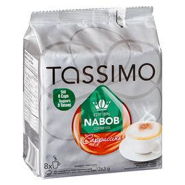 Tassimo Nabob Cappuccino - 8 Servings