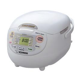 Zojirushi Neuro Rice Cooker - Premium White - 10 cups - NS-ZCC18