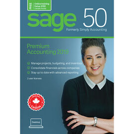 Sage 50 Premium Accounting: Canadian Edition - 2019 - CPRM2019RT