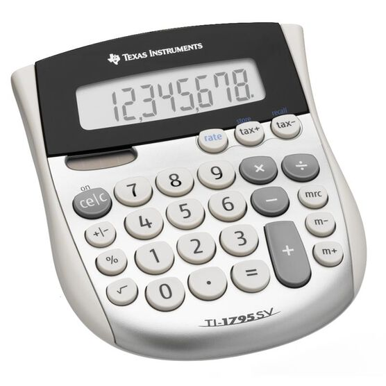 Texas Instruments Solar Desktop Calculator - TI1795SV