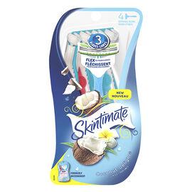 Skintimate Disposable Razors - Coconut Delight - 4's