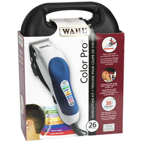 Wahl Colour Pro Colour Coded Haircutting Kit