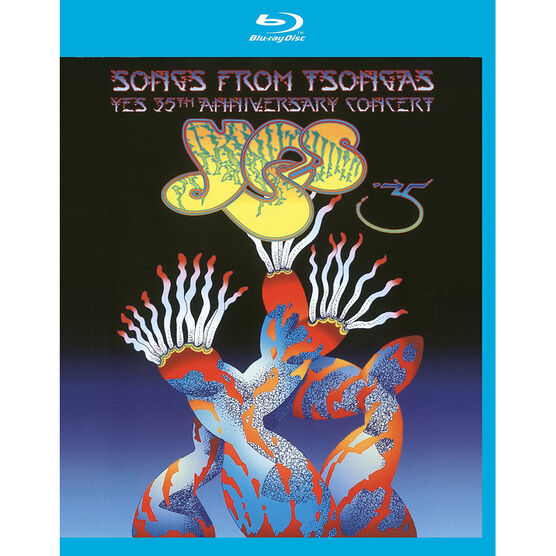 Songs From Tsongas: Yes 35th Anniversary Concert - Blu-ray
