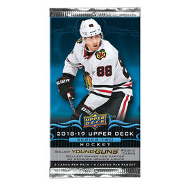 Upper Deck 2018/19 NHL Series 2 Booster Pack - 8's