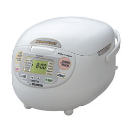 Zojirushi Neuro Rice Cooker - White - 5.5 cups - NS-ZCC10