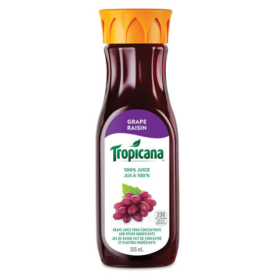 Tropicana Grape Juice - 355ml