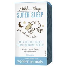 Webber Naturals Super Sleep - 30's