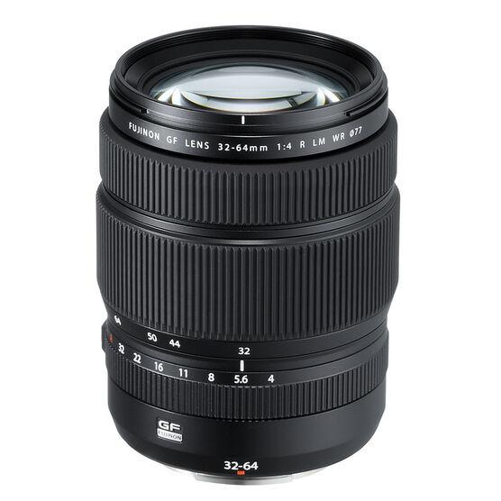 Fuji GF 32-64mm F4 R WR Lens - Black - 600018270