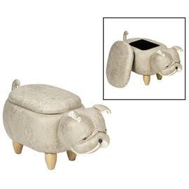London Drugs Animal Footstool with Storage - Bulldog
