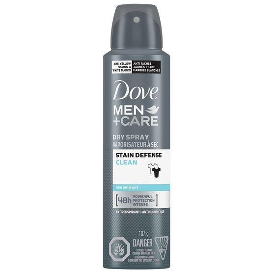 Dove Men+Care Invisible Dry Spray Antiperspirant - 107g