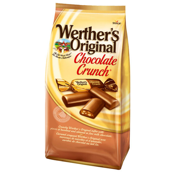 Werther's Original Toffee Candy - Chocolate Crunch - 125g