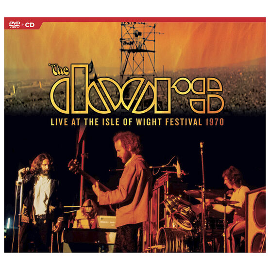 The Doors - Live At The Isle Of Wight Festival 1970 - DVD + CD