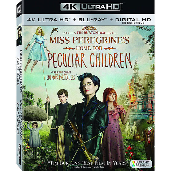 Miss Peregrine's Home For Peculiar Children - 4K UHD Blu-ray
