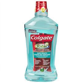 Colgate Total Gum Health Antiseptic Mouthwash - Clean Mint - 1L