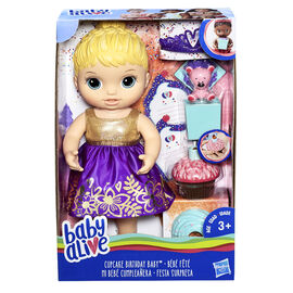 Baby Alive Surprise Doll - Blonde