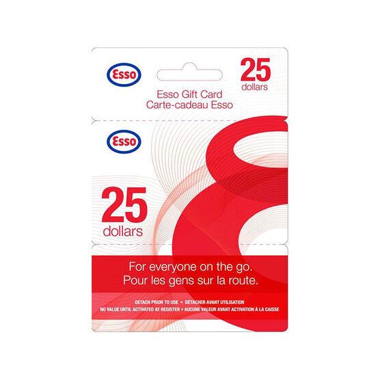 Esso Gift Card - $25
