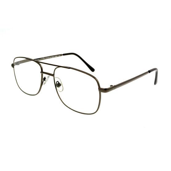 Foster Grant RR 51 Reading Glasses - Gunmetal - 2.50