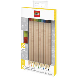 LEGO®  2.0 Coloured Pencils - 9 Pack