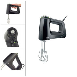 Braun Multimix Hand Mixer - Black - HM5100