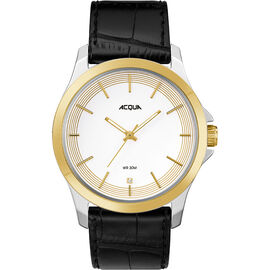 Timex Acqua Full Size Leather Watch - AA3C7840070