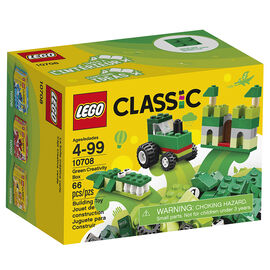 LEGO® Classic - Green Creativity Box