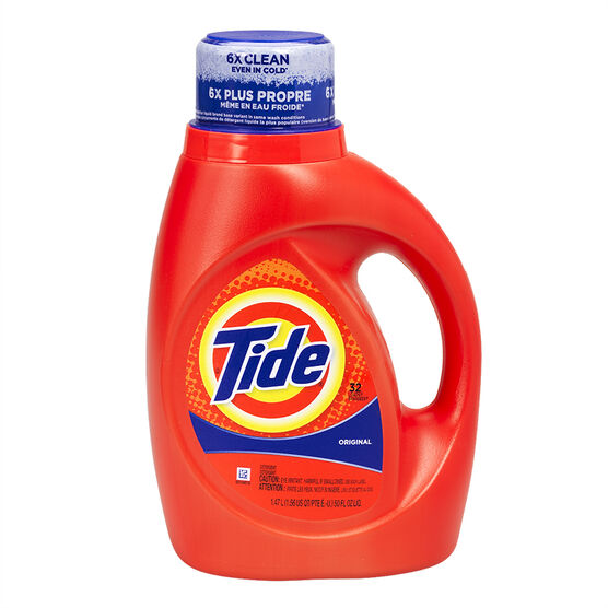 Tide Liquid Laundry Detergent - Original - 1.47L/32 use