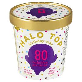 Halo Top Frozen Dairy Dessert - Birthday Cake - 473ml