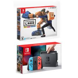 Nintendo Switch Red/Blue with Nintendo Labo Robot Kit - PKG #13776