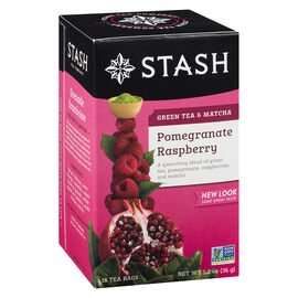 Stash Pomegranate Raspberry Green Tea with Matcha - 18's