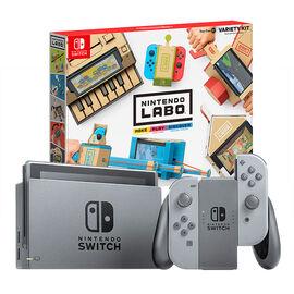 Nintendo Switch Gray with Nintendo Labo Variety Kit - PKG #13775
