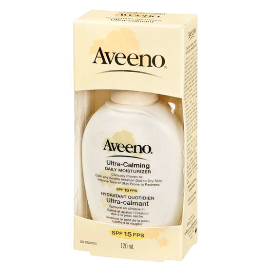 Aveeno Ultra Calming Daily Moisturizer with SPF-15 - 120ml