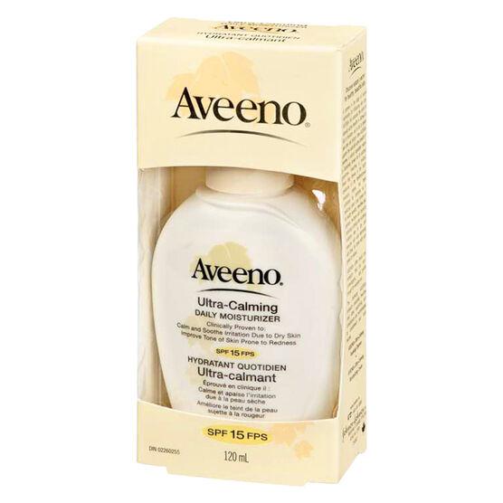 Aveeno Ultra Calming Daily Moisturizer with SPF-15 - 120ml