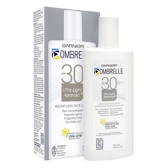 Ombrelle Ultra-Fluid Sunscreen Lotion - Face - SPF 30 - 50ml