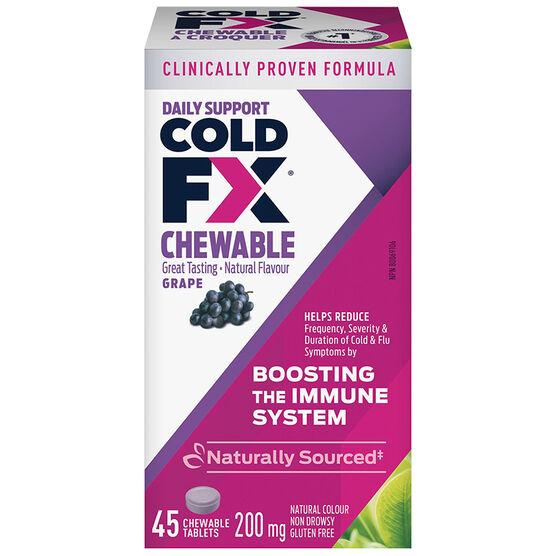 Cold-FX Chewable - Grape - 45's