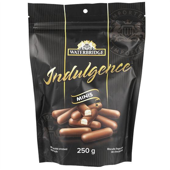 Waterbridge Indulgence Minis Chocolate Fingers - 250g