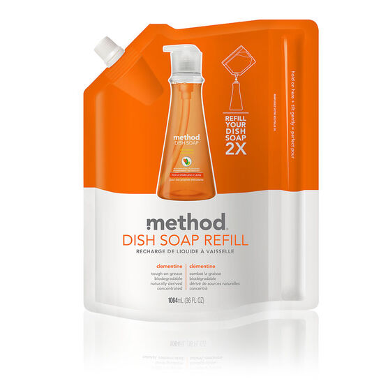 Method Dish Soap Refill - Clemantine - 1064ml