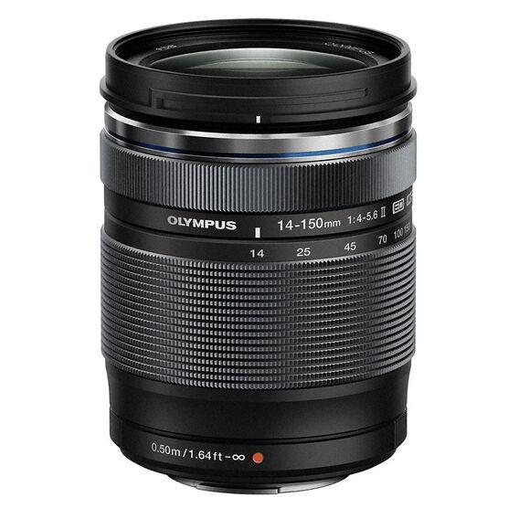 Olympus M.Zuiko ED 14-150mm f4-5.6 II Lens - Black - V316020BU000